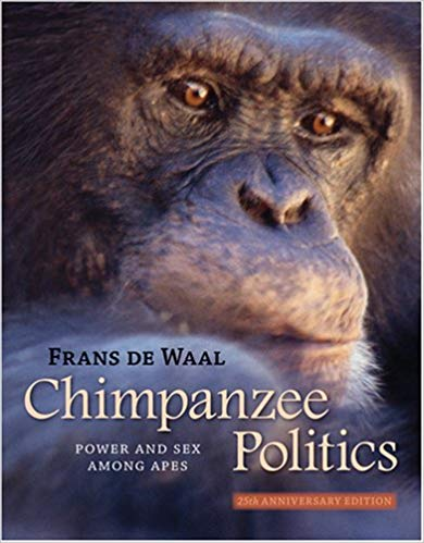 Primate Books Chimpanzee Politics: Power and Sex among Apes