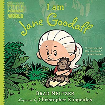 Primate Books I am Jane Goodall by Brad Meltzer
